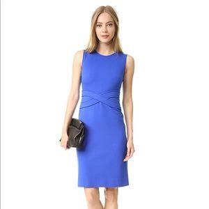 Diane von Furstenberg Evita blue dress